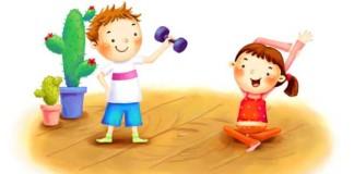 Профилактика сколиоза у детей. Зарядка для спины