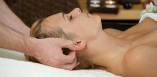 массаж ушной раковины