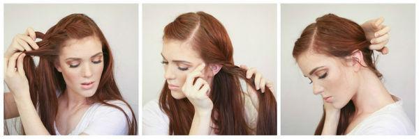 Французская боковая коса: богемный образ женщины