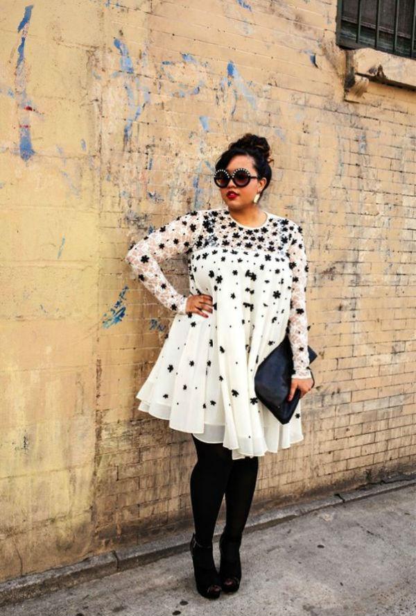 Осеняя мода для полных женщин