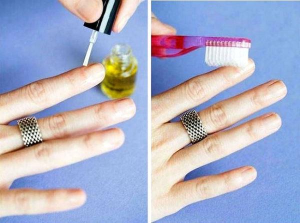 Используем зубную щетку для красоты