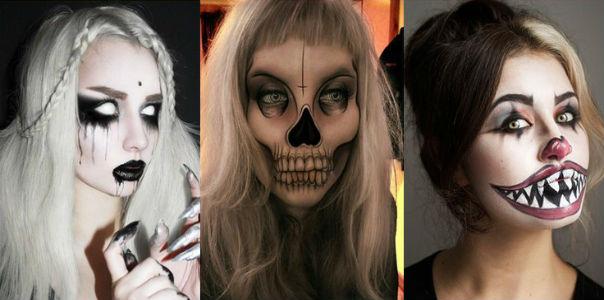 Самые интересные идеи грима на Хэллоуин