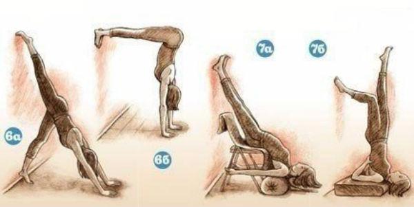 Комплекс йоги коррекции сколиоза