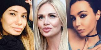 10 российских красоток до и после пластики