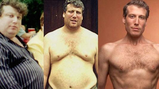 Этот мужчина сбросил 100 кг