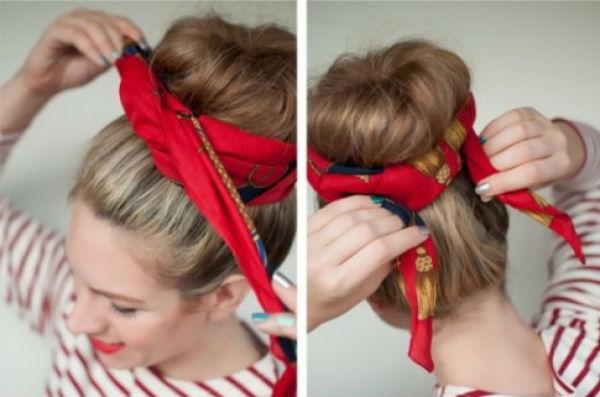 10 способов завязать платок