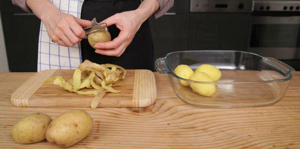 Картофельная кожура спасет от седины