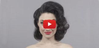 100 лет истории макияжа