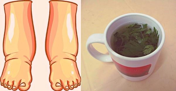 Натуральное средство против отечности ног