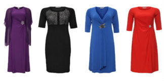Стильные платья для женщин 50 лет